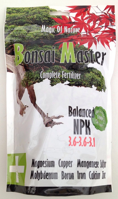 Organic Fertilizer Bonsai Master 500 Gr Bonsái Pavía