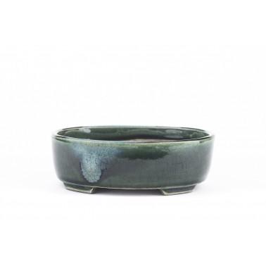 Terahata Satomi Bonsai Pot 6B-06 GREEN
