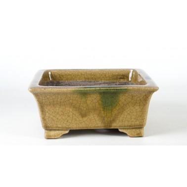 Terahata Satomi Bonsai Pot 6B-01B