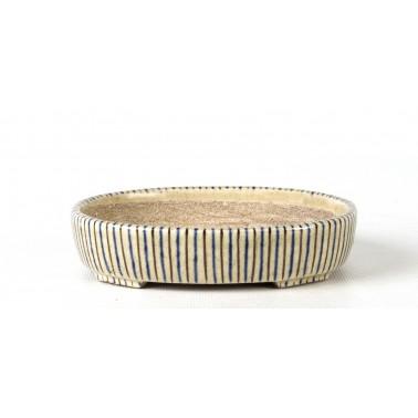 Terahata Satomi Bonsai Pot 6B-07