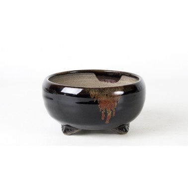 Terahata Satomi Bonsai Pot 6B-12